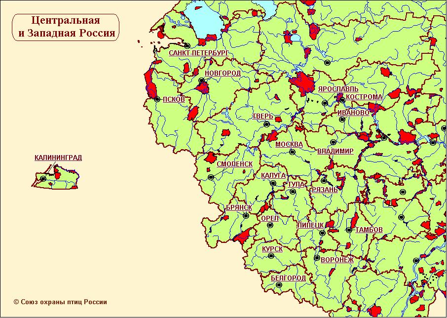 Карта-схема КОТР