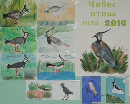 """Выставка детского творчества """"Чибис – птица года 2010"""": http://www.rbcu.ru/news/14517/"""