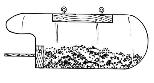 Вот кому интересно, схема конструкции кормушки.